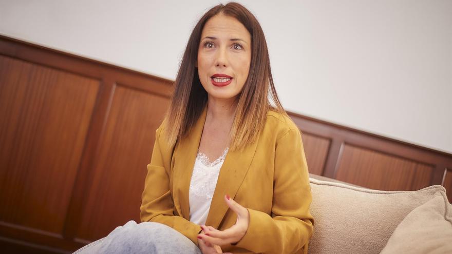 Patricia Hernández, alcaldesa de Santa Cruz de Tenerife.