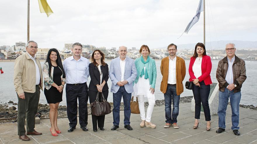Presentación de la candidatura de NC al Cabildo de Gran Canaria encabezada por Antonio Morales.(FOTO: ALEJANDRO RAMOS)