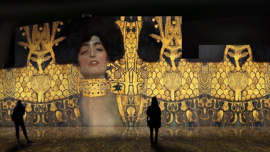 La exposición 'El oro de Klimt'