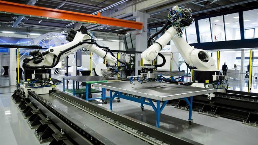 Los precios de la producción industrial cayeron un 0,1 % en la eurozona en junio