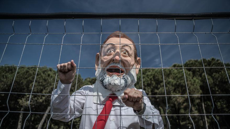 El cabezudo de Rajoy.