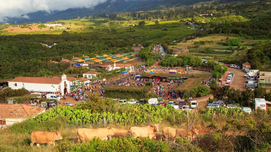 En la imagen, Fiesta de San Antonio del Monte.