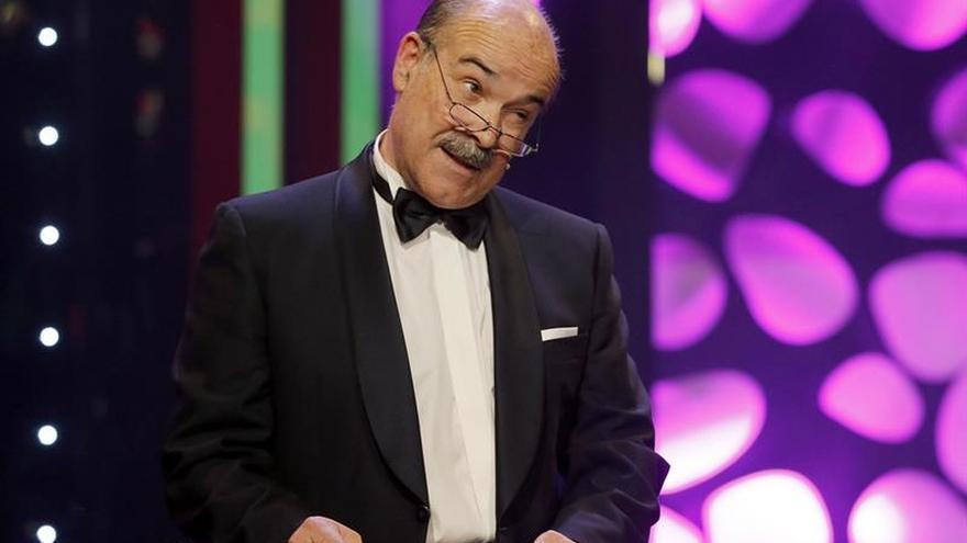 Dimite Antonio Resines como presidente de la Academia de Cine