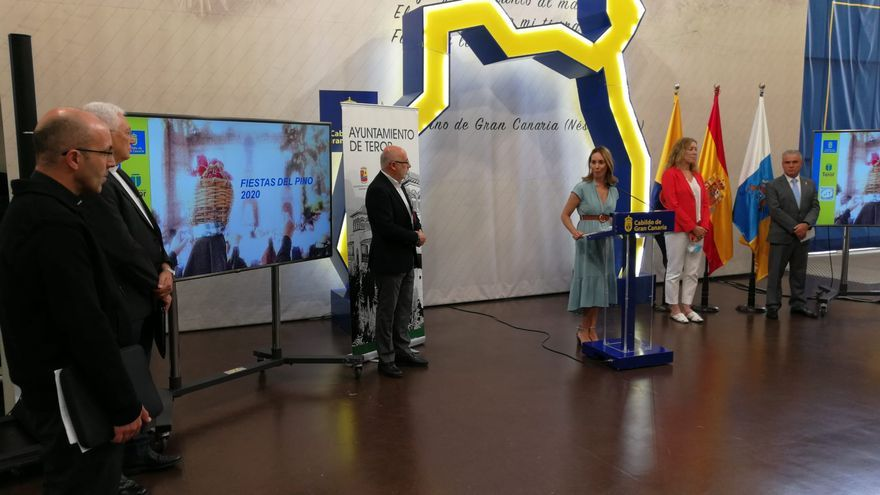 Presentación de las novedades de las fiestas de la Virgen del Pino 2020