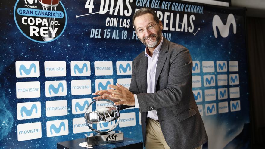 El director de Canarias de Telefónica, Juan José Flores.