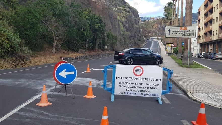 Zon habilitada para aparcar.