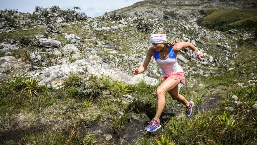 La corredora Fernanda Maciel en una imagen de archivo.