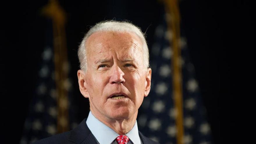 En la imagen, el exvicepresidente de EE.UU. Joe Biden.