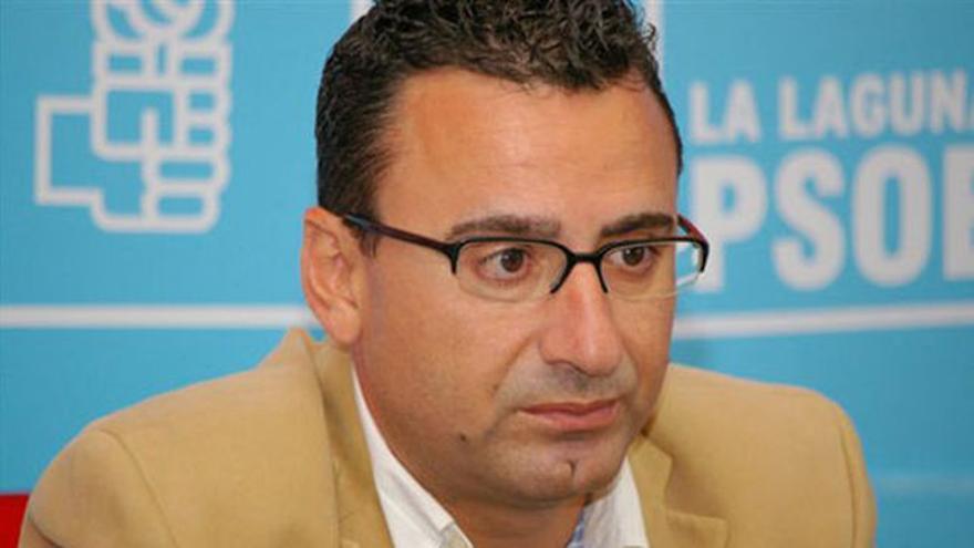 Javier Abreu, concejal en el Ayuntamiento de La Laguna