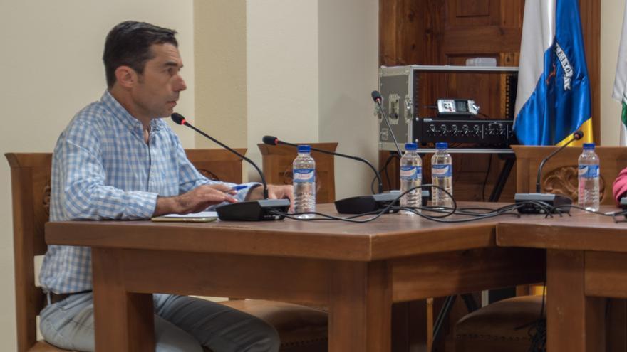 Carlos González, portavoz del PP en Tijarafe.
