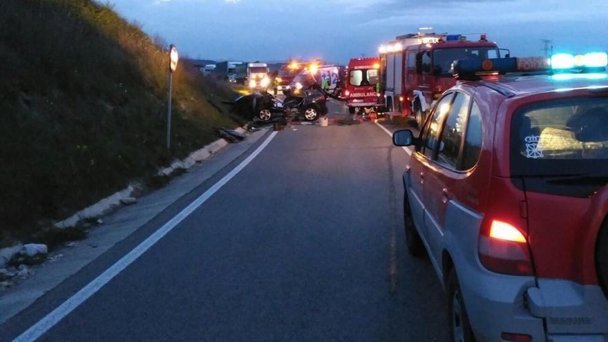 Abril eleva hasta 12 el número de víctimas mortales en accidentes de tráfico en Navarra, dos más que en 2015
