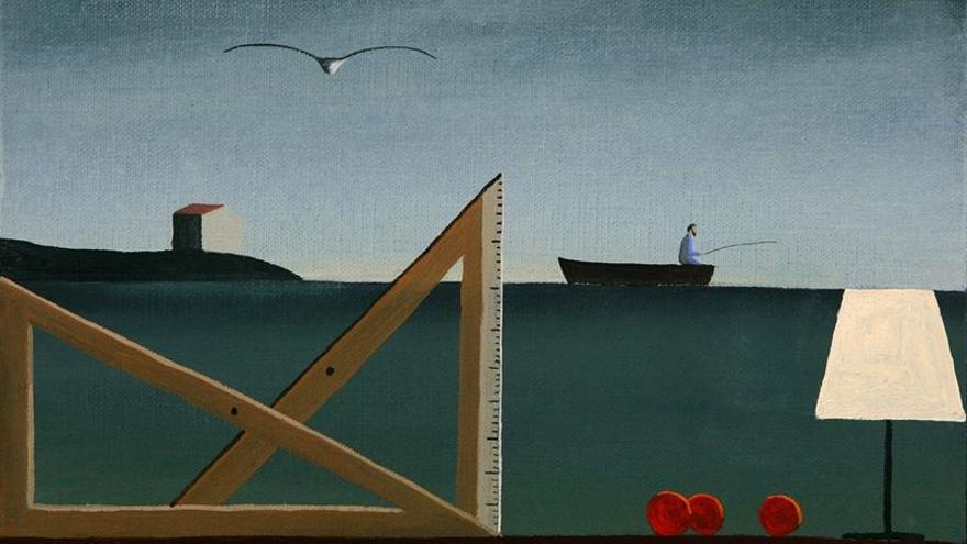El Faro de Cabo Mayor acoge la muestra 'Visionarios' de Emilio González Sainz.