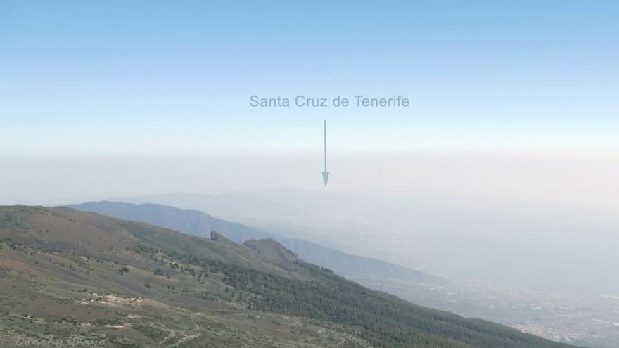 Así afecta la calima a la visibilidad en Canarias