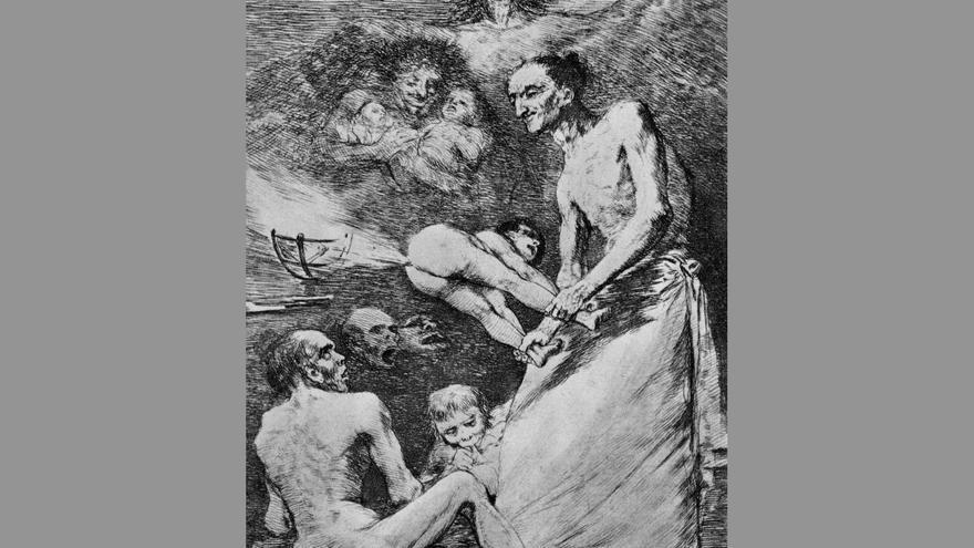 Caprichos de Goya.