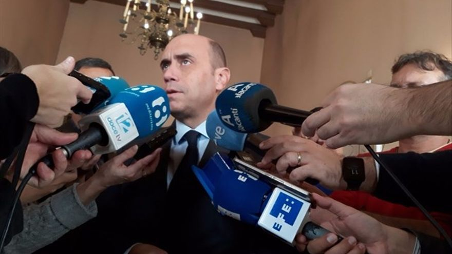 El ja exalcalde d'Alacant, el socialista Gabriel Echávarri-
