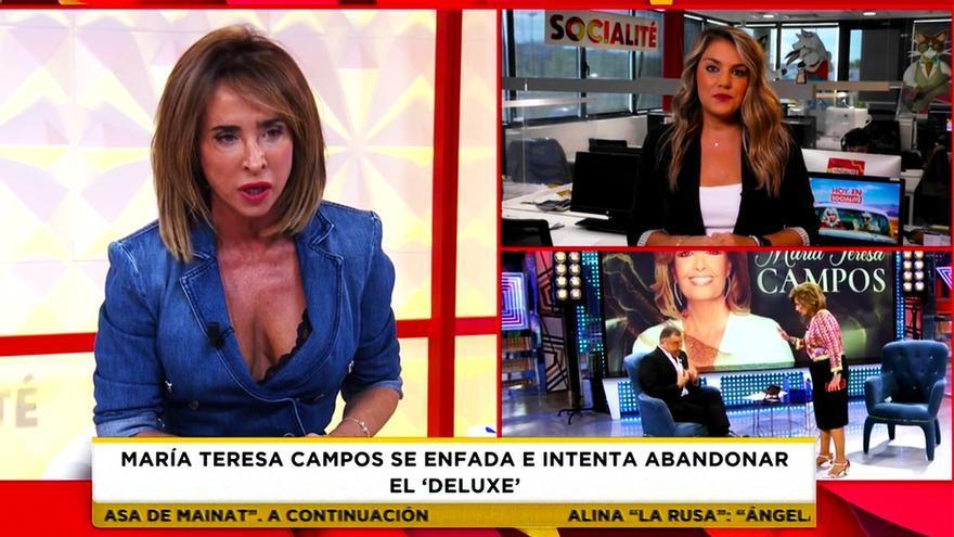 María Patiño en 'Socialité'