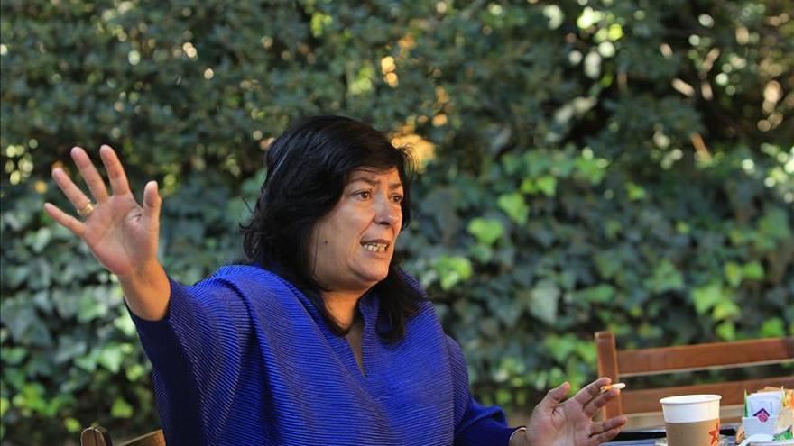 Almudena Grandes reivindica el papel literario de la resistencia a la dictadura en España