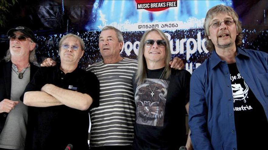Deep Purple ofrecerá su único concierto en España en Ávila