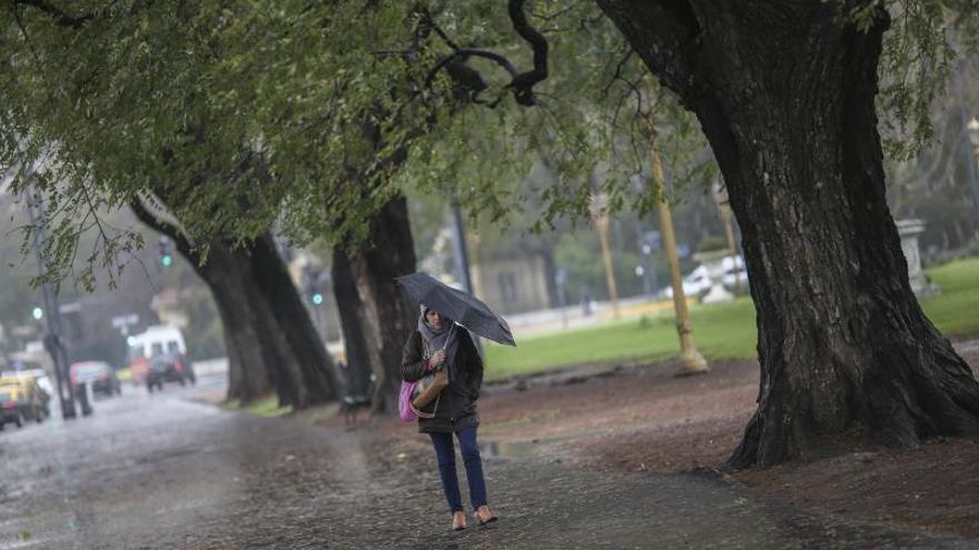 Fuerte viento provoca un incendio y una muerte en la provincia argentina de Mendoza