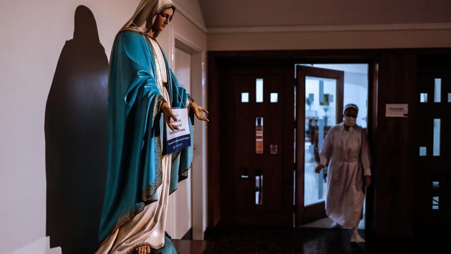 El hospital argentino que permite dar el último adiós a los enfermos de COVID-19