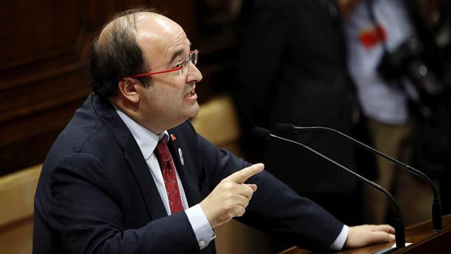 Iceta propugna una reforma constitucional en la que Cataluña se encuentre cómoda