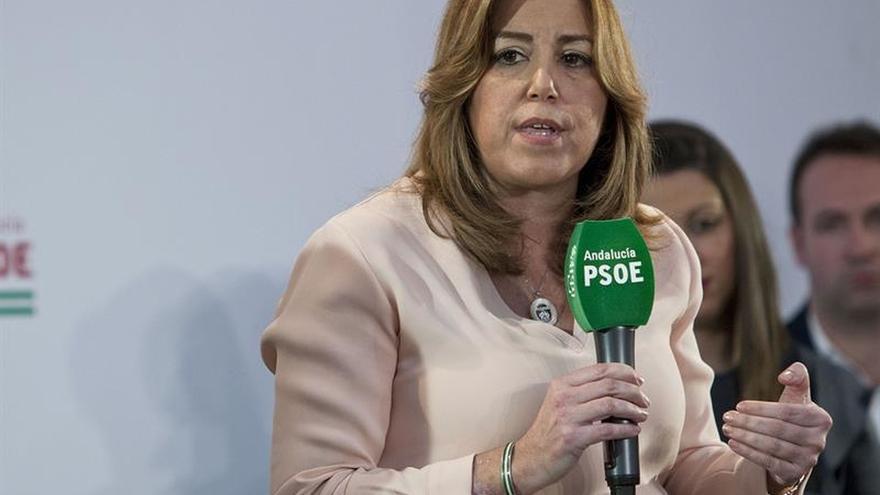 """Susana Díaz apela al compañerismo en un PSOE sin """"etiquetas"""" ni """"apellidos"""""""