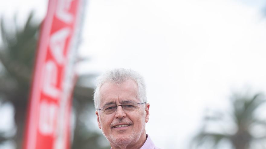 El presidente de SPAR Gran Canaria, Ángel Medina