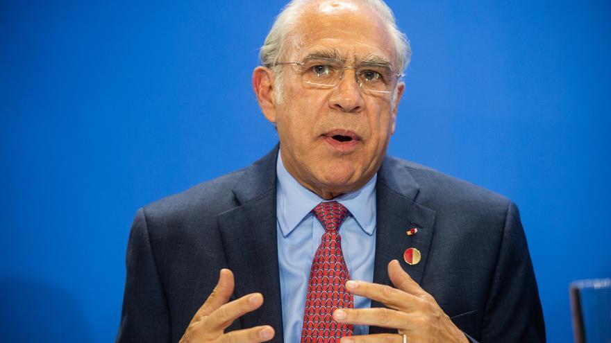 El secretario general de la Organización para la Cooperación y el Desarrollo Económico (OCDE), Ángel Gurría.