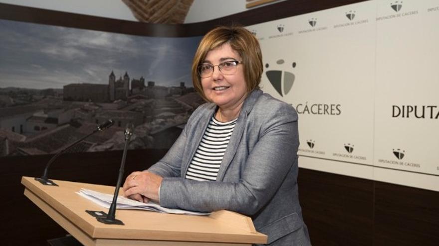 Presidenta de la Diputación Provincial de Cáceres, Rosario Cordero