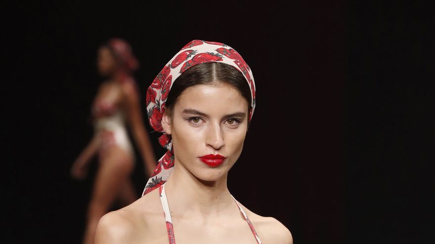 'Zafra', de Laut, premiada como Mejor Colección Emergente 2020 por su impecable factura en la Semana de Moda Baño de Gran Canaria