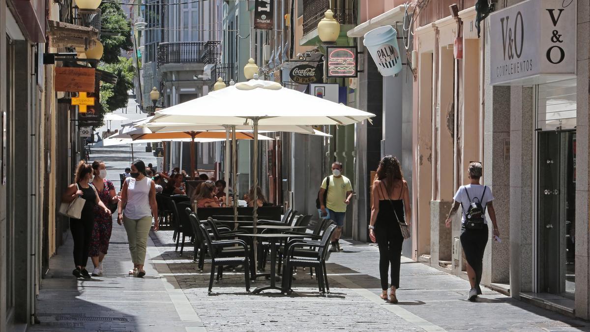Calle Constantino, en Las Palmas de Gran Canaria.