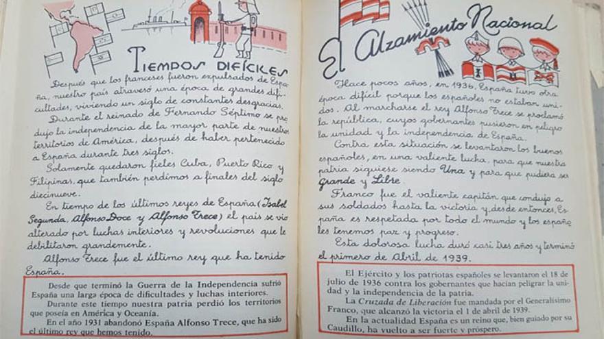 """""""Continuidades sorprendentes: libros de texto de 1942 y 2008"""""""