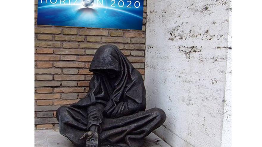 Mendigo a las puertas de EUropa