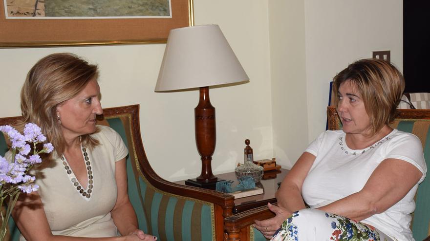 Rosario Cordero Jerónima Sayagués Diputación Cáceres Subdelegación Gobierno