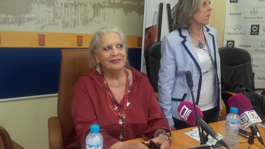 Terele Pávez en Talavera de la Reina / Europa Press