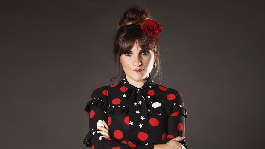 La cantante y compositora Rozalén actuará en el festival Vive la Feria de Torrelavega.   ARCHIVO