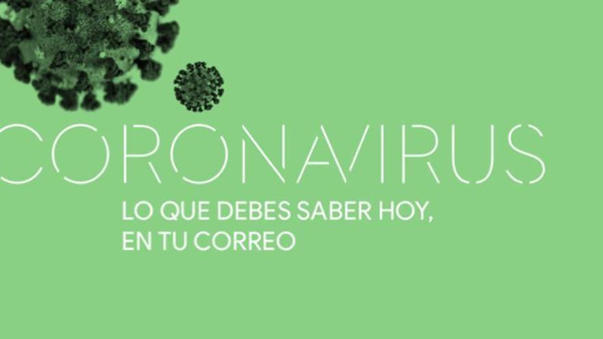 El boletín sobre el coronavirus