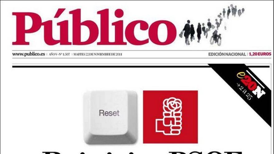 De las portadas del día (22/11/2011) #9