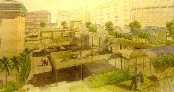 Boceto del proyecto que se está barajando para Mostenses | Imagen: El Mundo