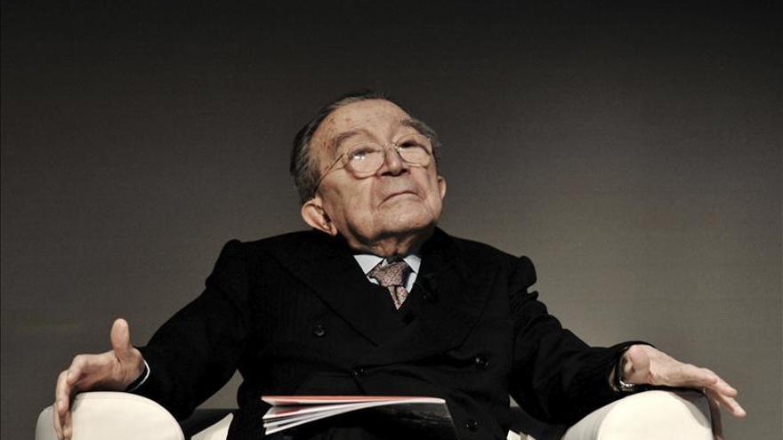 Muere Giulio Andreotti, siete veces primer ministro de Italia. / Efe