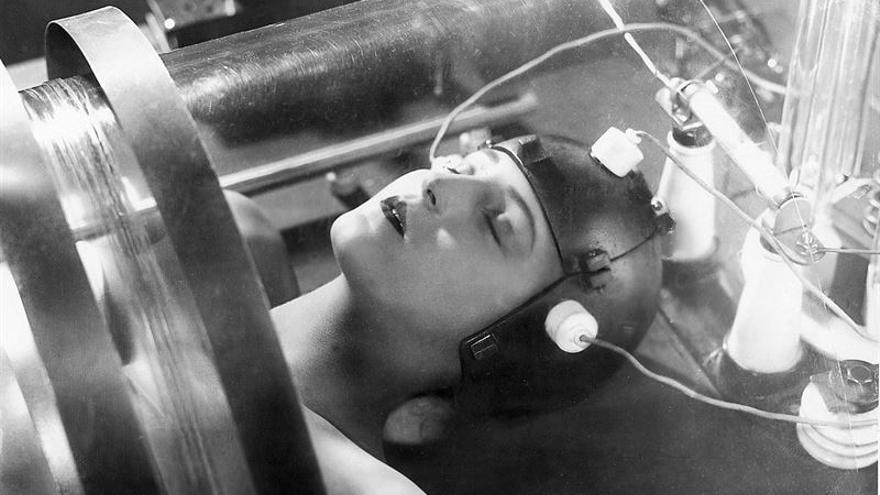 Fotograma de la película Metrópolis, de Fritz Lang