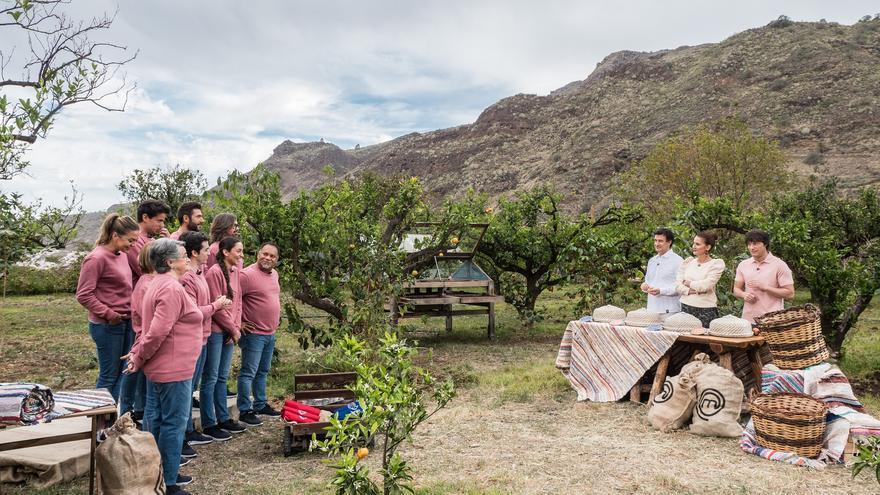Imagen del programa 'MasterChef' grabado en Agaete, Gran Canaria