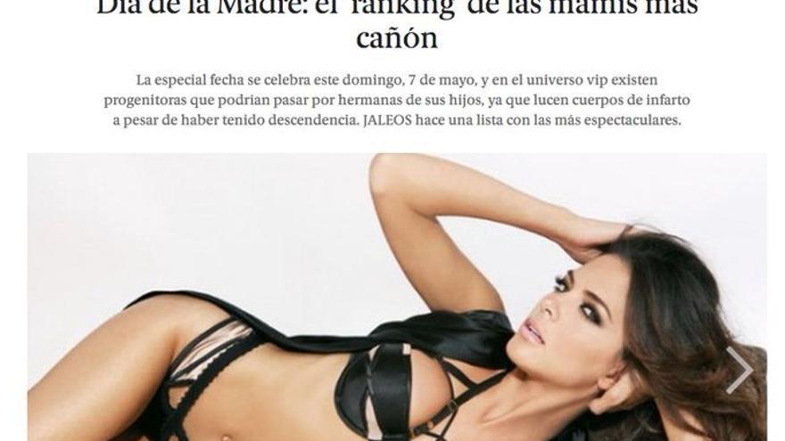 El Español madres cañón