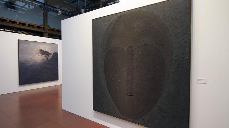 Obra de Monagas expuesta en el espacio artístico de La Laguna