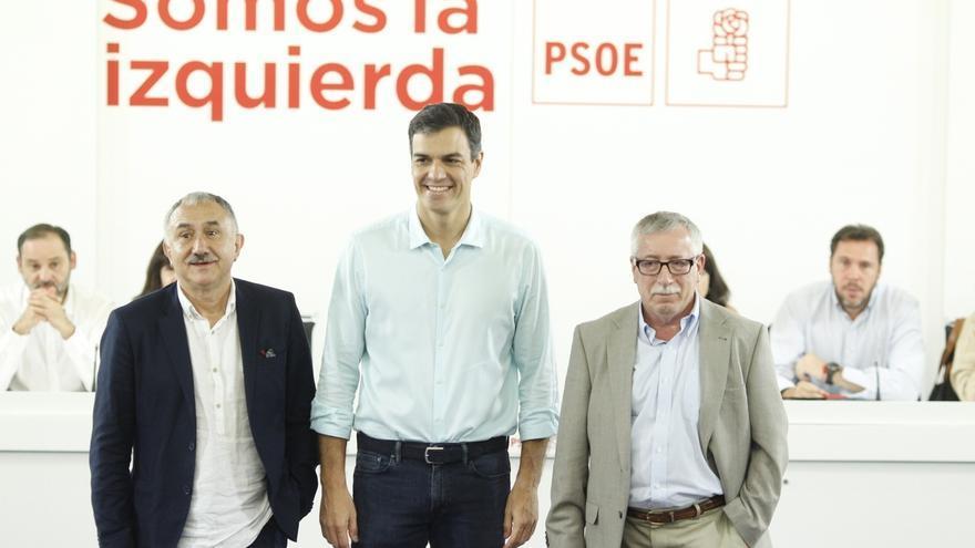 El PSOE se une a CC.OO. y UGT para derogar las reformas laborales de Zapatero y del Partido Popular