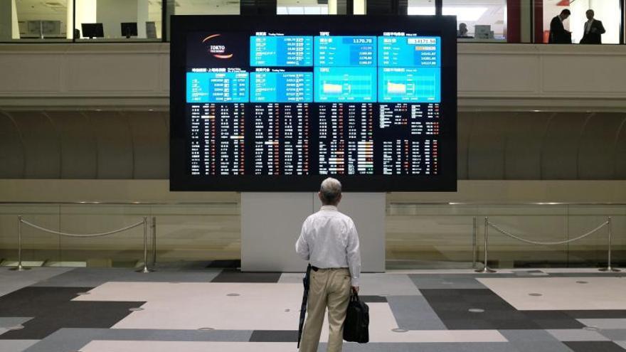 El Nikkei sube un 0,46 por ciento hasta los 15.713,25 puntos