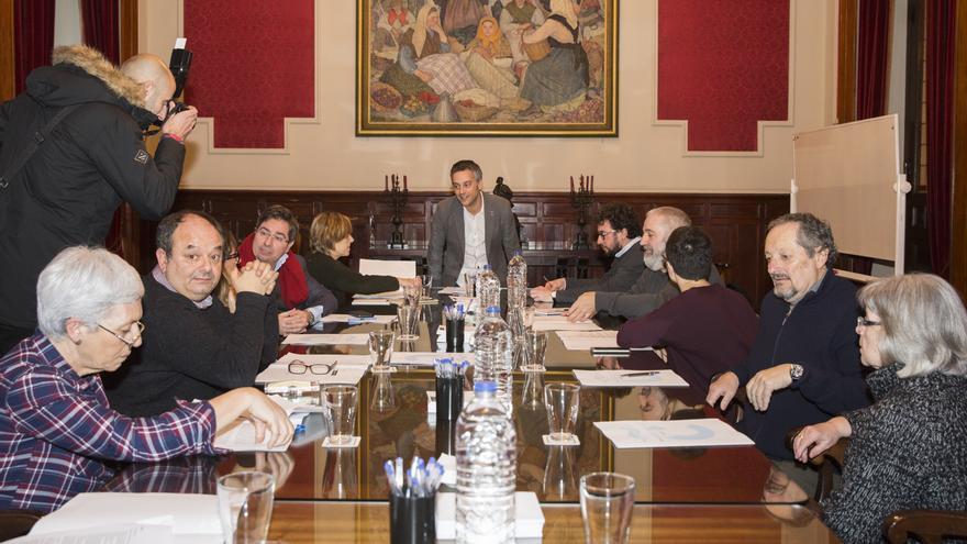 Constitución del 'Consello da Memoria Democrática da Coruña', este miércoles