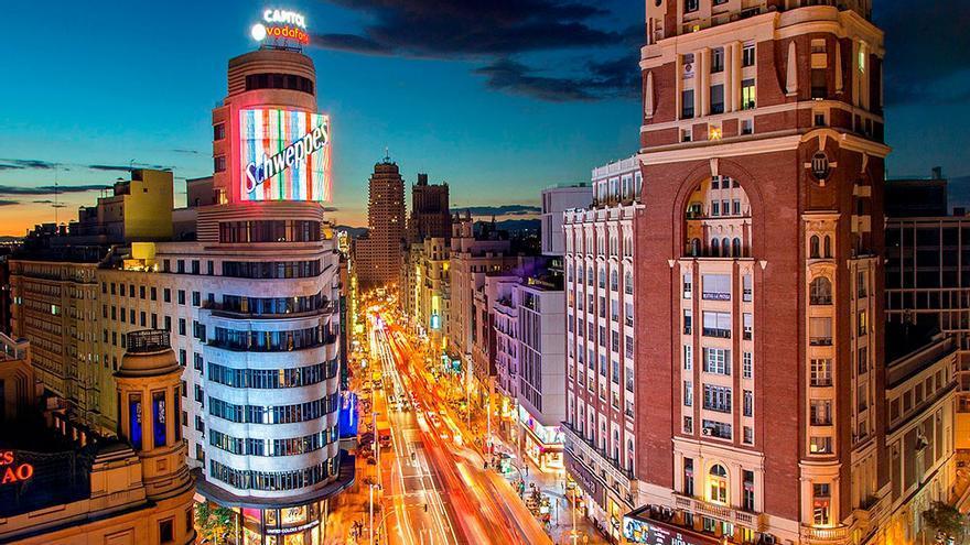 Madrid, Gran Vía, Callao