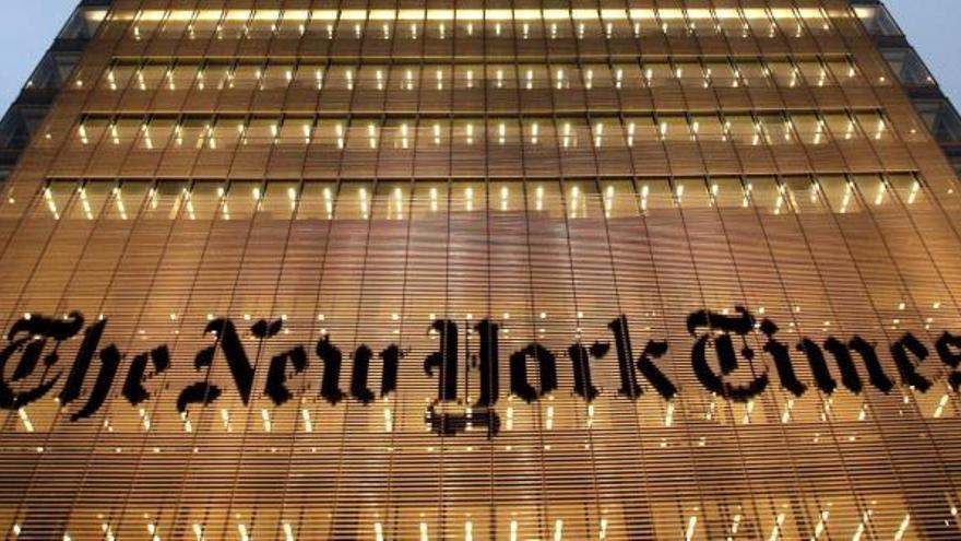 """La presunta violación del """"Gran Hermano"""" español, portada del New York Times"""