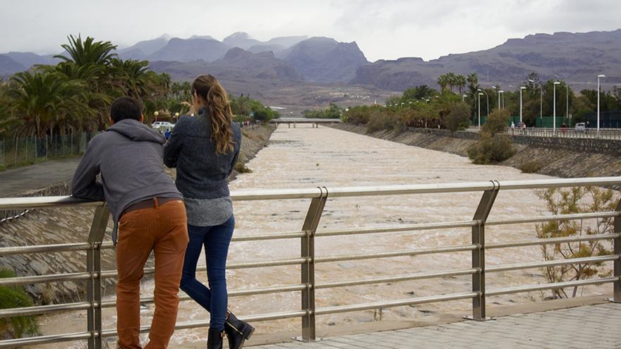 Barranco de Maspalomas.